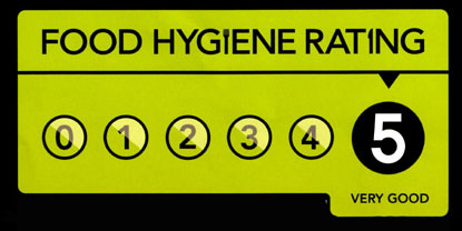 Massala Club Hygiene Rating